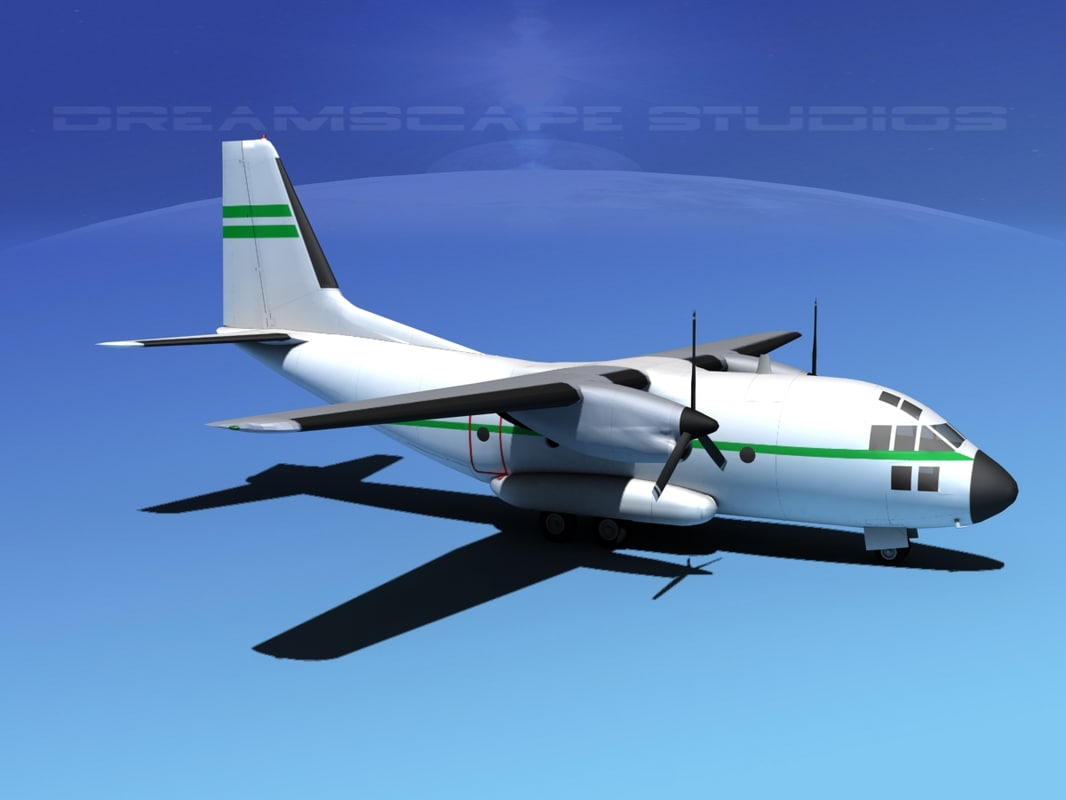 3d model aircraft spartan transports