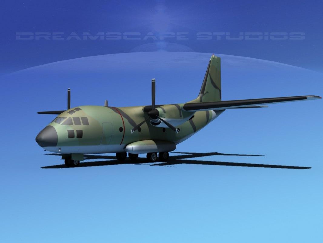 3d model aircraft spartan