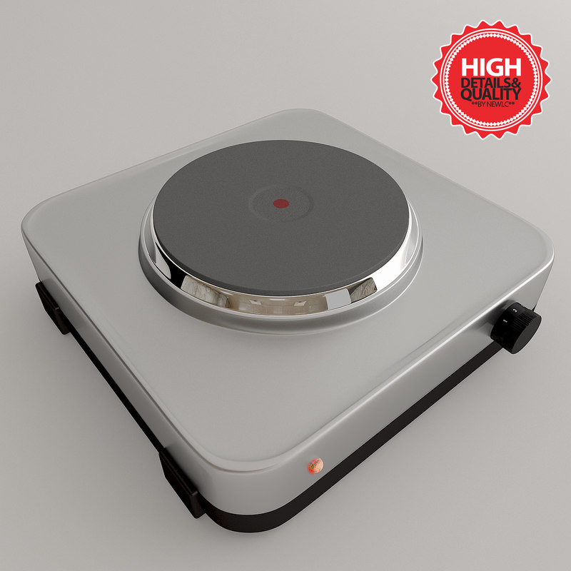 cooktop cook 3d max