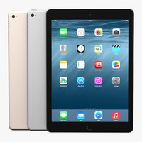 Apple iPad Air 2 (Black, White, Gold)