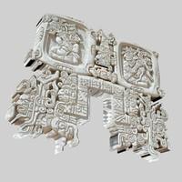 3d aztec symbol