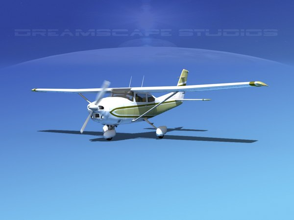 Cessna 182 3D Models for Download | TurboSquid
