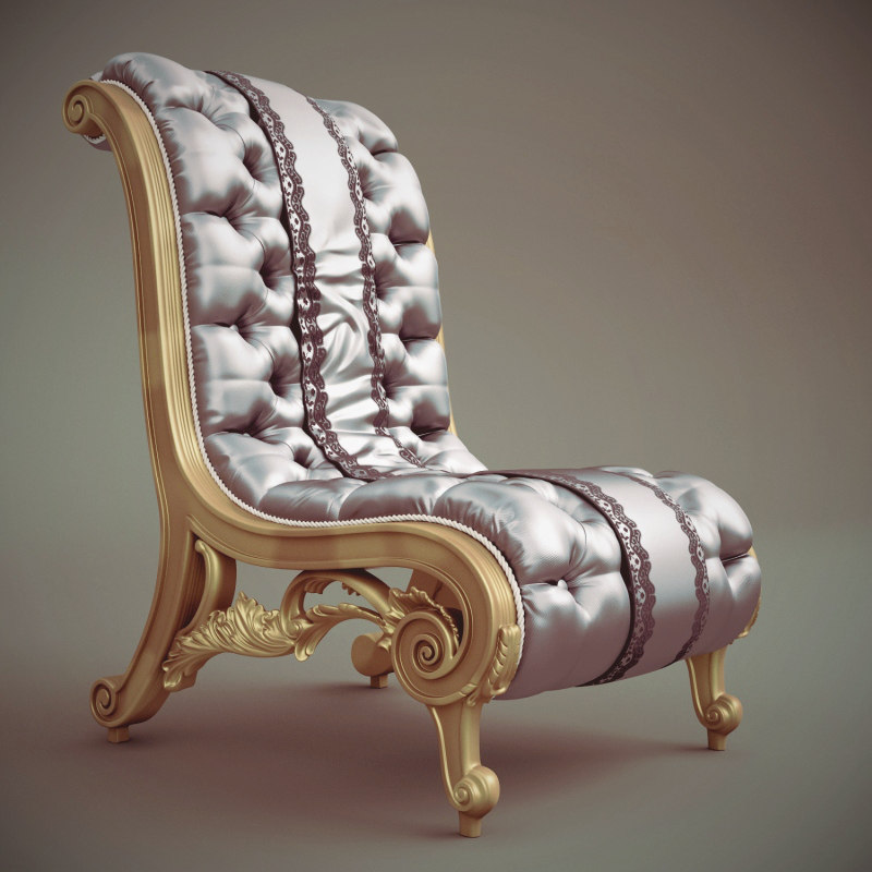 3d jumbo can-91 chaise milan