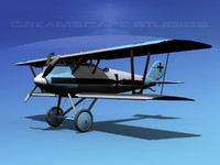 3d model of pfalz d iii diii