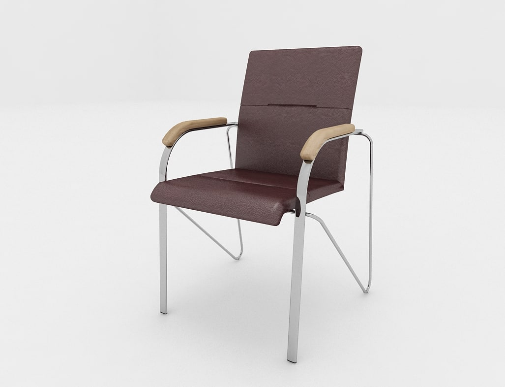 office chair samba 3d model