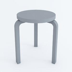 stool 60 3d max