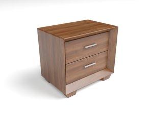3d nightstand model
