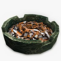 maya ashtray cigarette