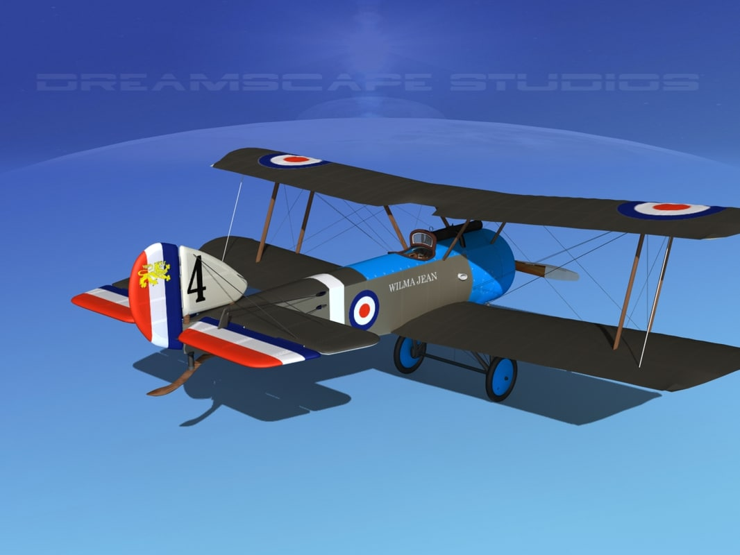 cockpit fighter sopwith pup max