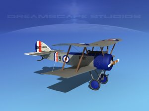 3ds cockpit sopwith pup