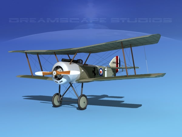 cockpit fighter sopwith pup dwg