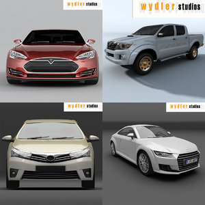 3d model of collections s