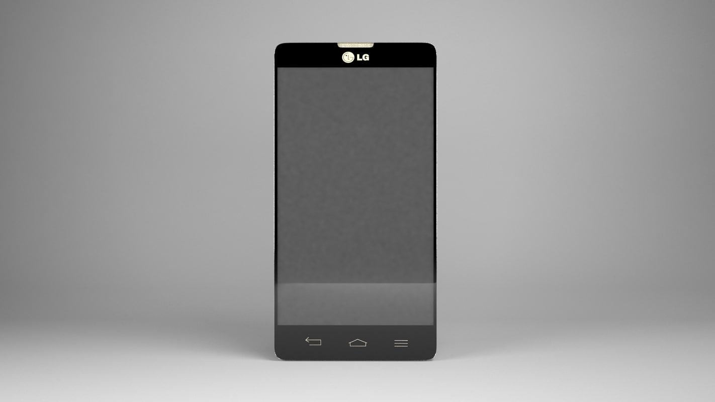 lg l9 ii 3d model
