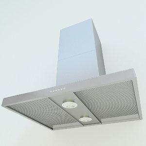3d model of hood spotlights