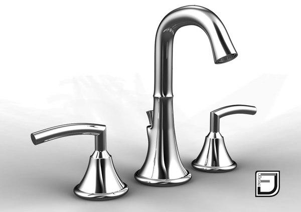 3d bathroom faucet 5 model