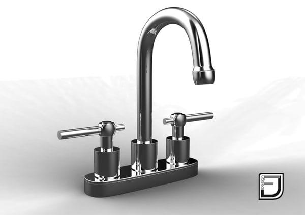 bathroom faucet 2 3d x