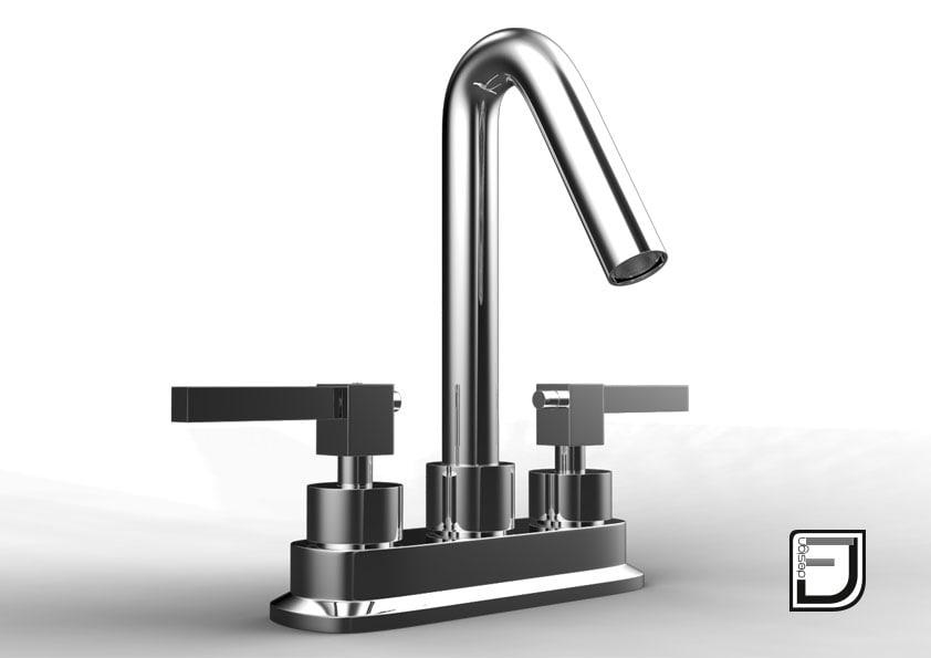 bathroom faucet 3 3d 3ds