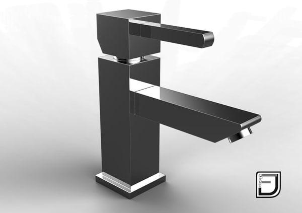 bathroom faucet 4 3d model