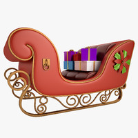Christmas Sleigh 02