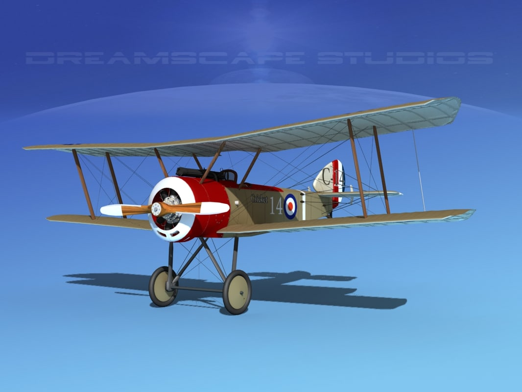 3d cockpit fighter sopwith pup
