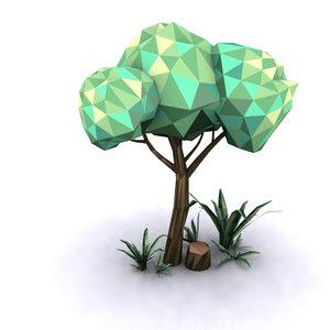 3ds max trees set -