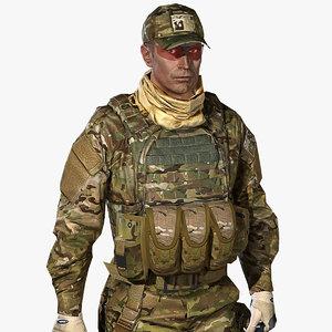 max vr australian multicam soldier