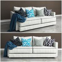 3d tribeca sofa model