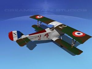 max nieuport 17 fighter aircraft
