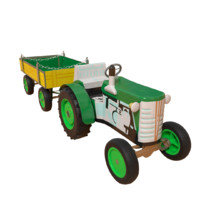 3d model tin toy tractor