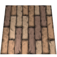 Wood Logs 1 Texture Tile