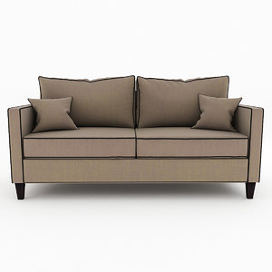 3d max jackson sofa