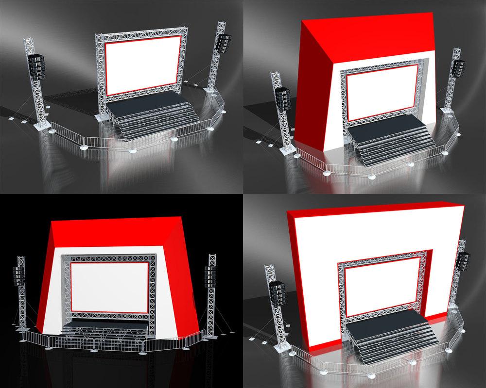 public viewing 3d model