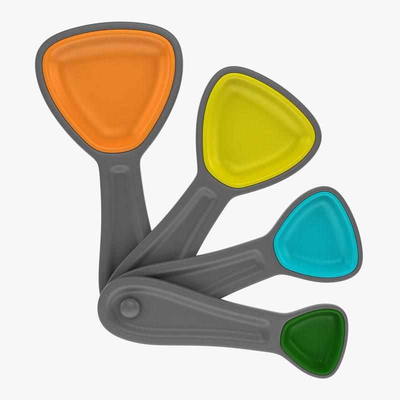 measuring spoon 3d model