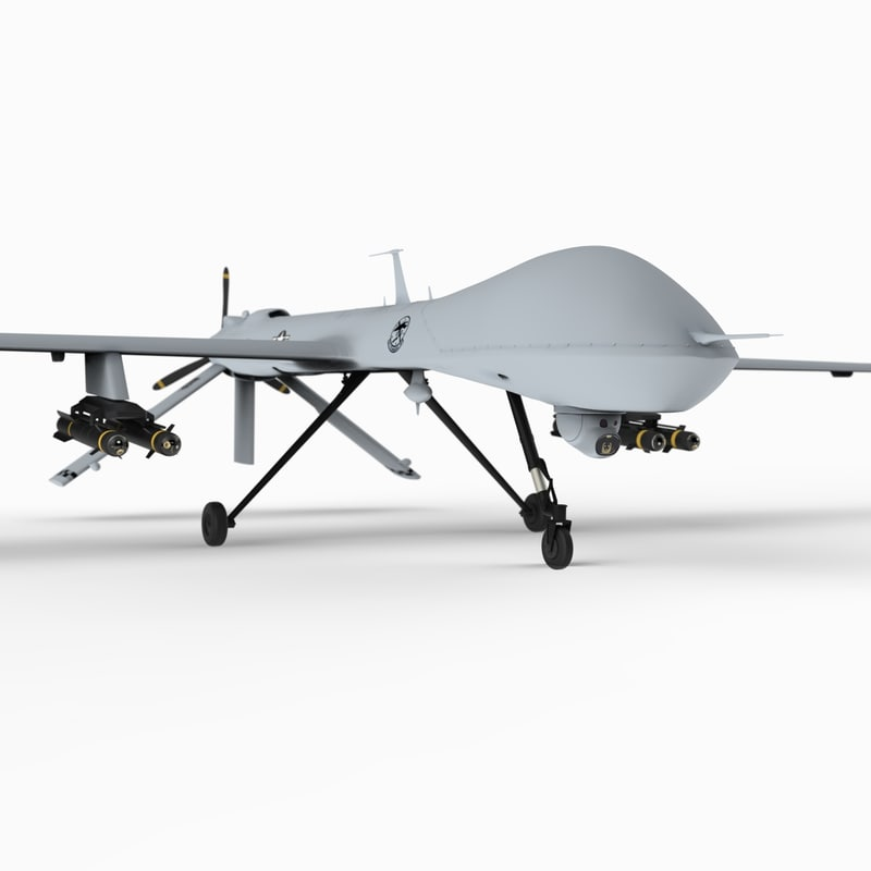 3d general mq-1 predator