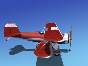 waco ymf-5 ymf 3d model