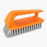 hand scrub brush 3ds