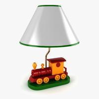 3ds max train lamp