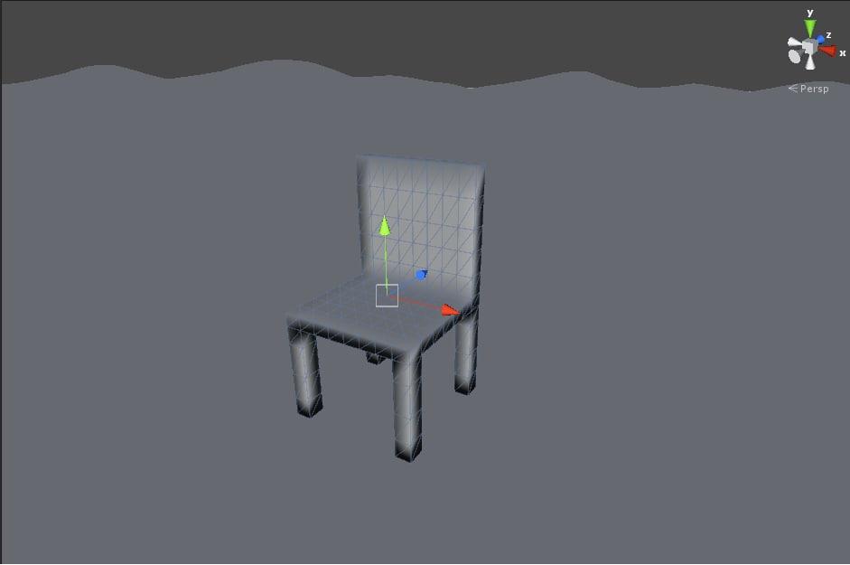 basic chair fbx