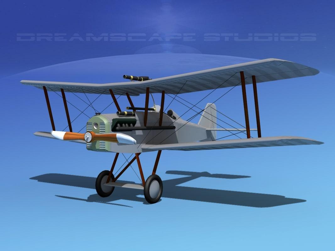 cockpit raf fighter 3d max