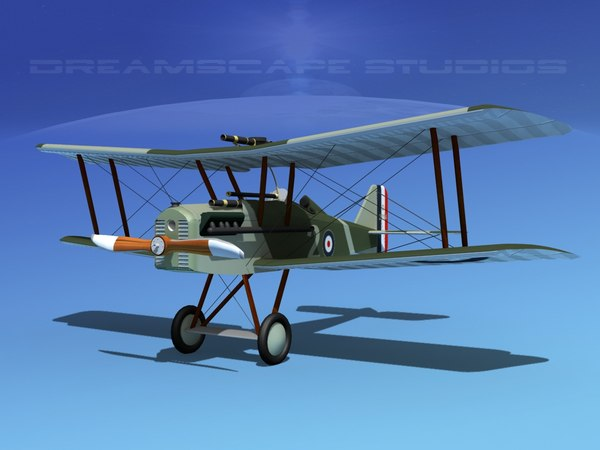 cockpit raf fighter 3d model