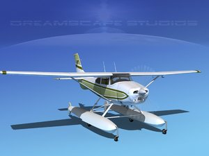 3d model of propeller cessna 182 skylane