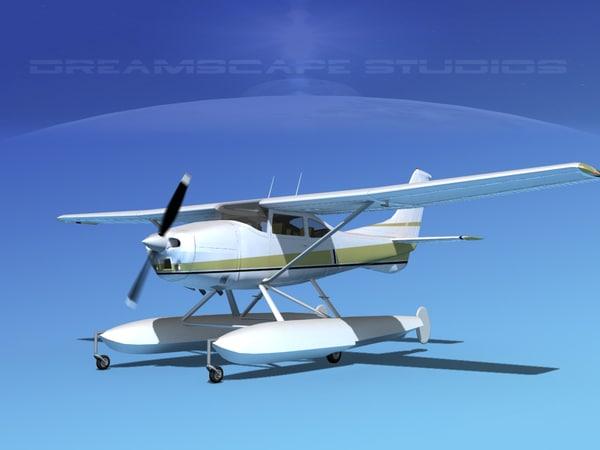 propeller cessna 182 skylane 3ds