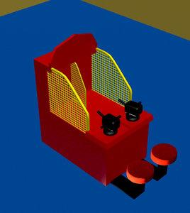 3d model redemption arcade