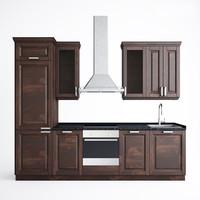 3d model ikea kitchen hood
