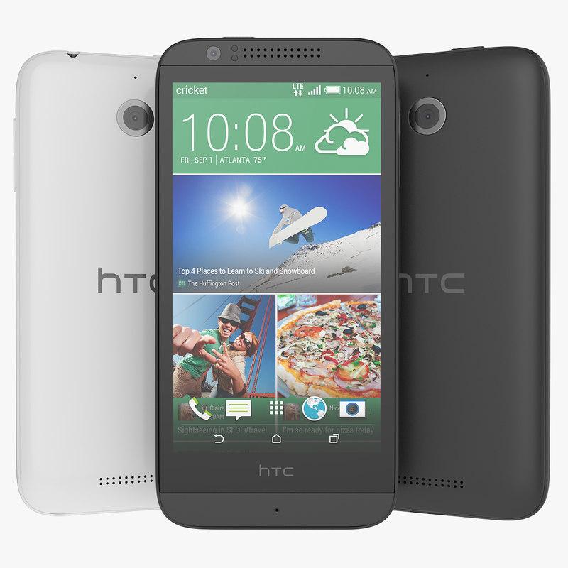 htc 510 white 3ds