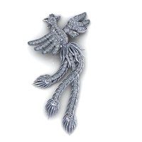 Haven Bird for Clip, Pendan and Earring