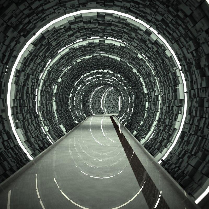 tunnel 3d max