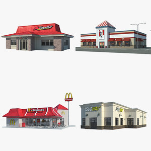 3ds max fast food