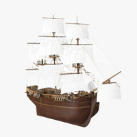wooden ship max