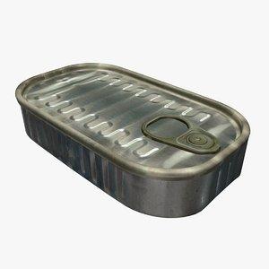 3d sardine realistic model